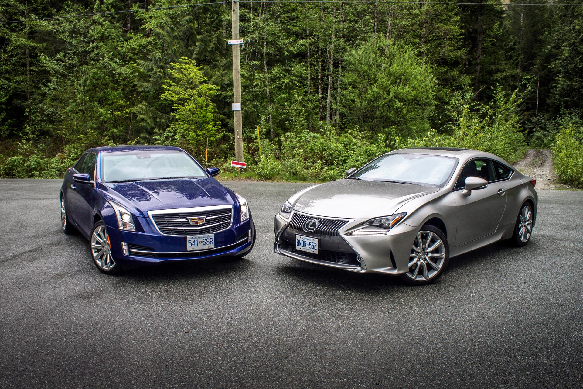 2015 cadillac ats vs lexus rc 350. Black Bedroom Furniture Sets. Home Design Ideas