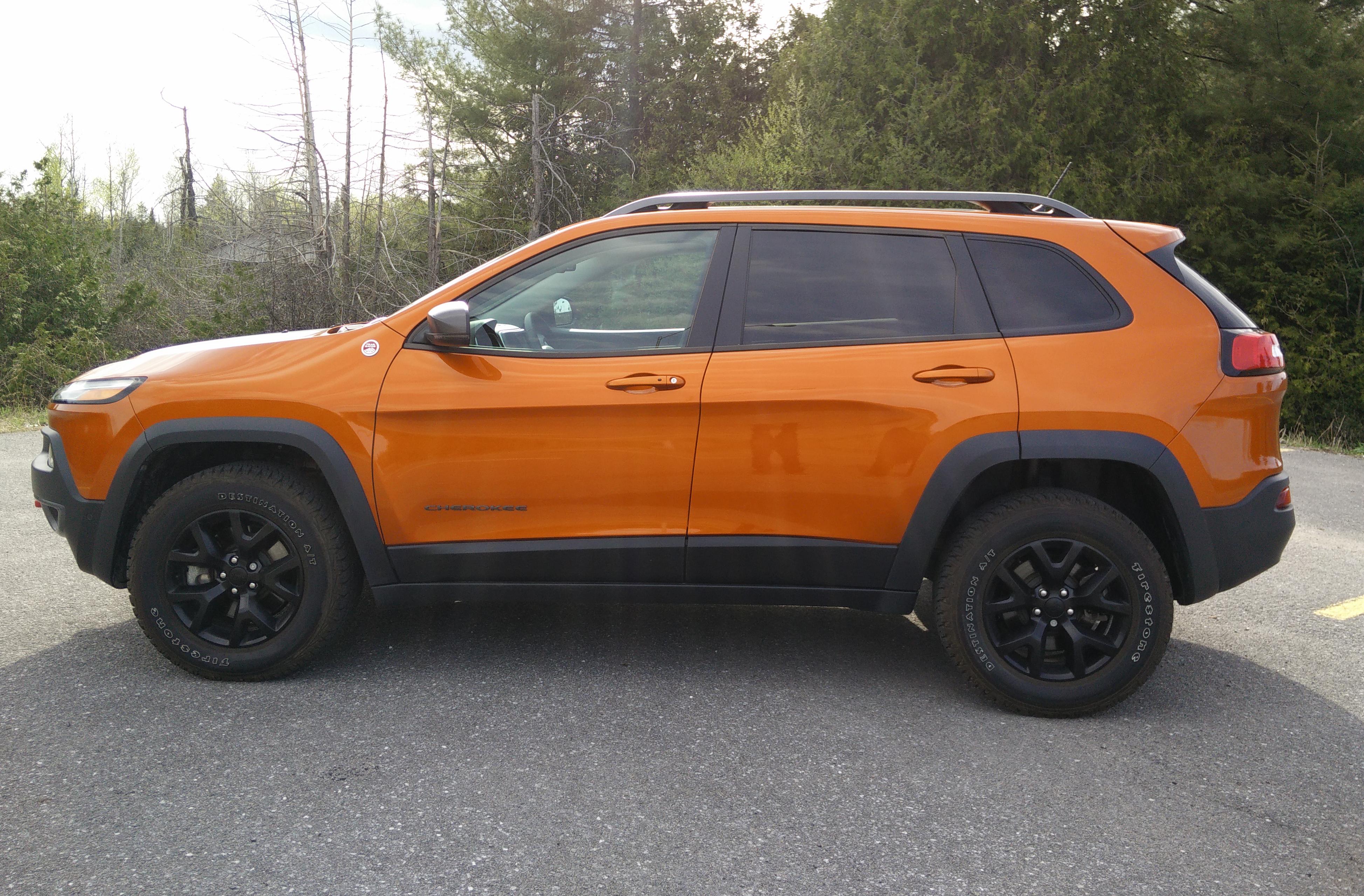 2015 Jeep Cherokee Trailhawk Autos Ca