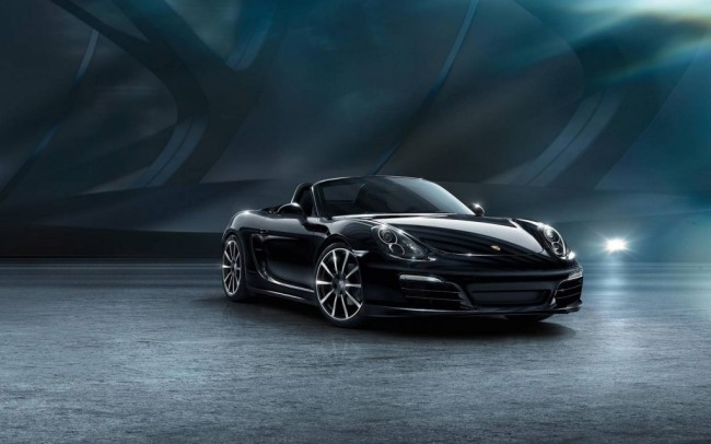 porsche adds boxster 911 black edition trims confirms future four cylinder power. Black Bedroom Furniture Sets. Home Design Ideas