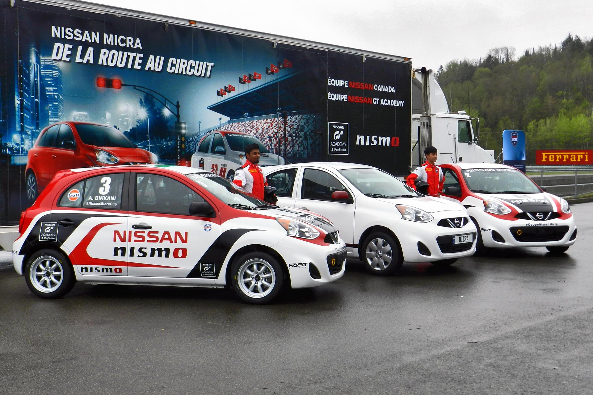 Feature Nearly Crashing A Nissan Micra Cup Racecar Control Ac March