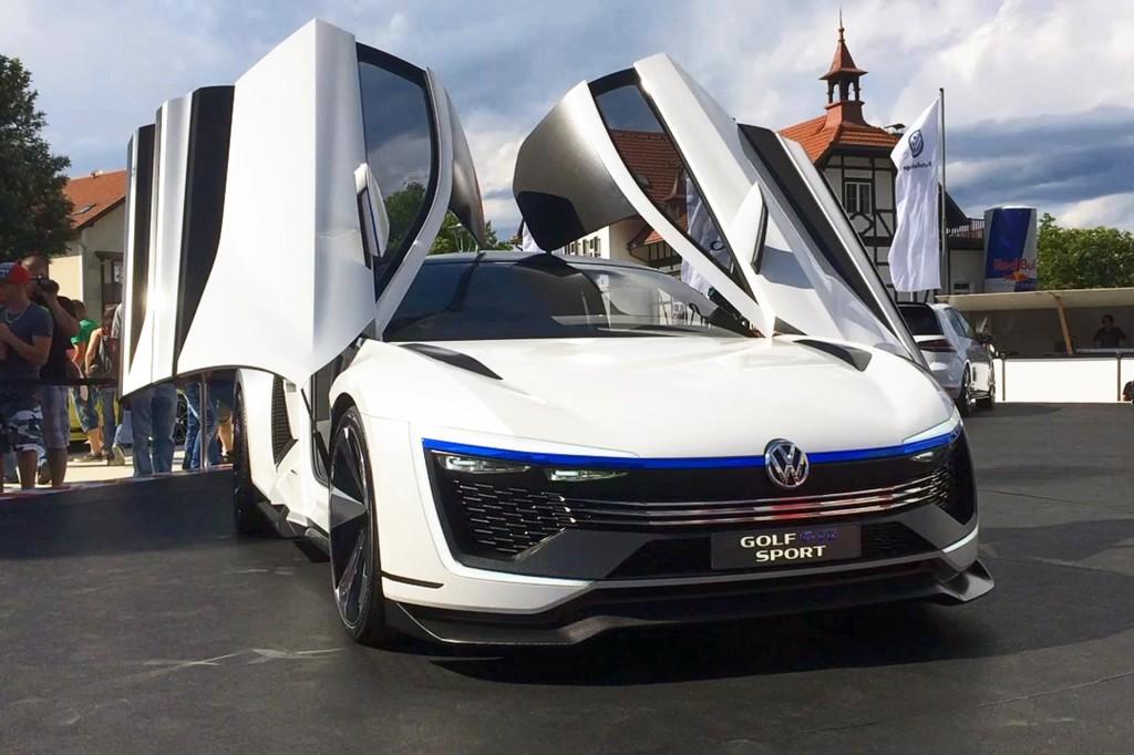 preview volkswagen golf gte sport concept. Black Bedroom Furniture Sets. Home Design Ideas