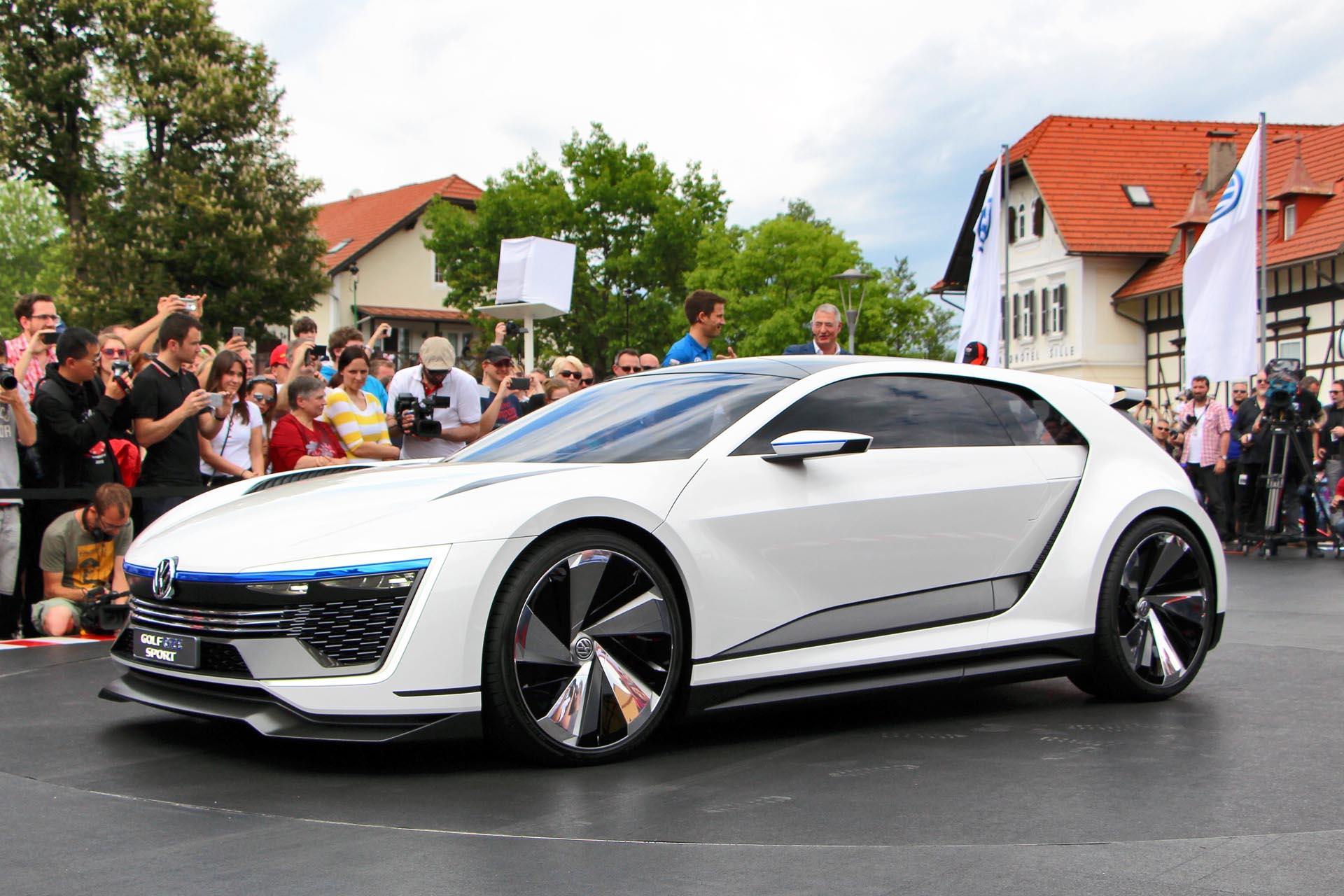 Volkswagen Golf Gte Sport Concept Jy 07