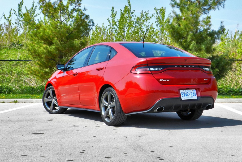 Test Drive 2015 Dodge Dart Gt Page 4 Of 4 Autos Ca