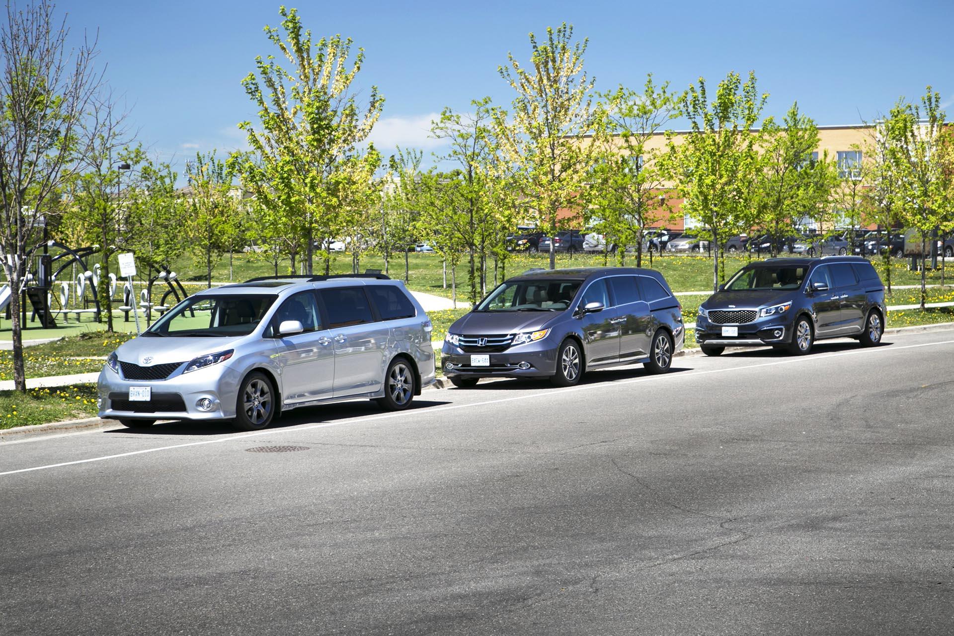 new minivans comparison. Black Bedroom Furniture Sets. Home Design Ideas