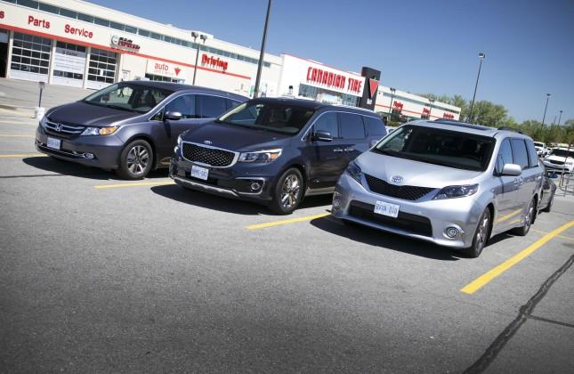 2015 Minivan Comparison