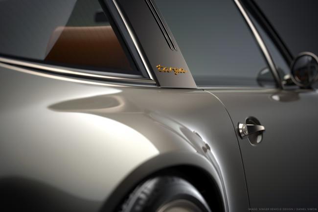 Porsche 911 restored and reimagined by Singer Image © Singer Vehicle Design / Daniel Simon, LLC