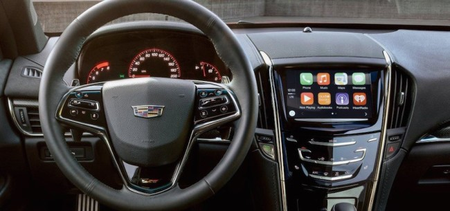 cadillac applecarplay