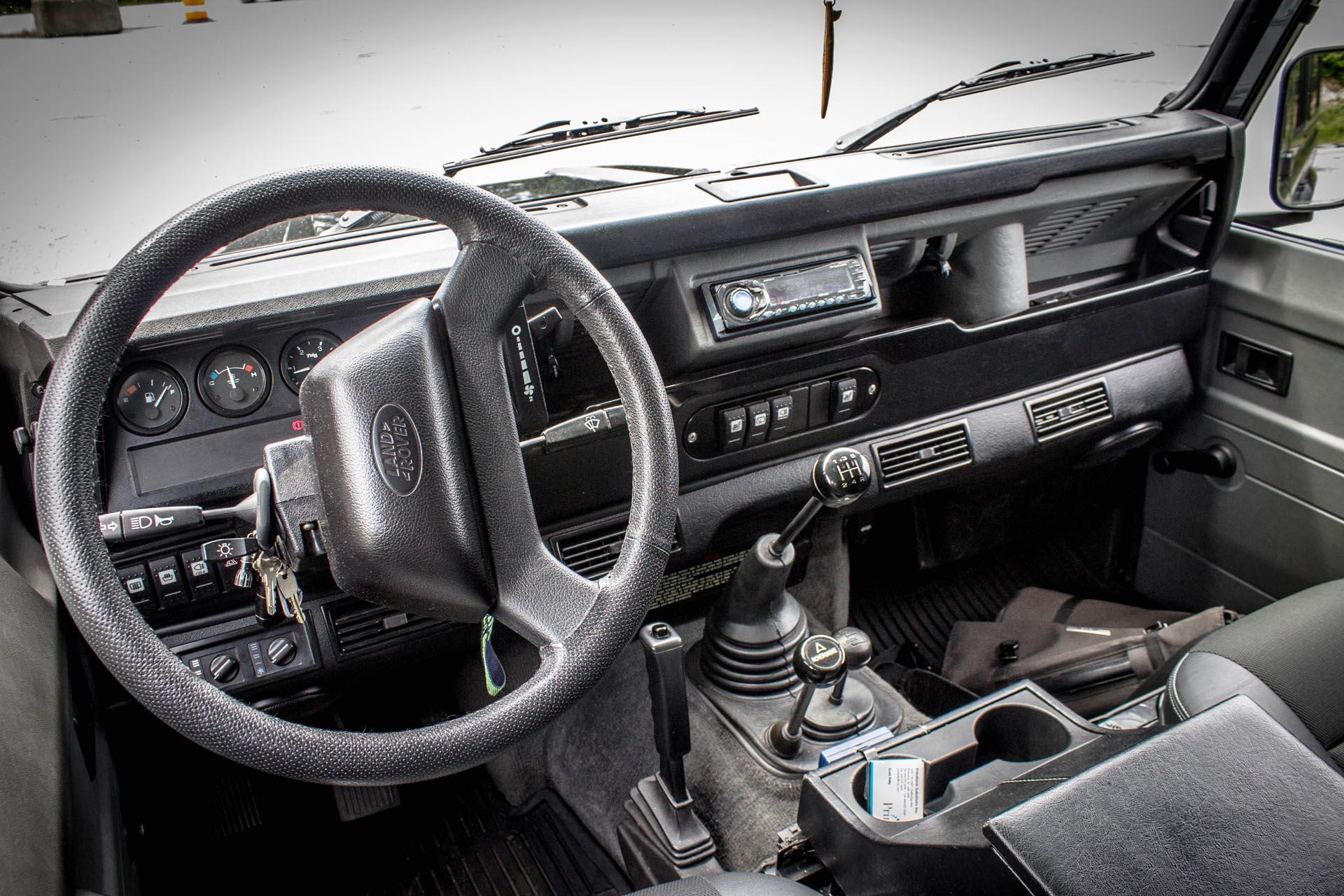 2000 Land Rover Defender 110 Autos Ca