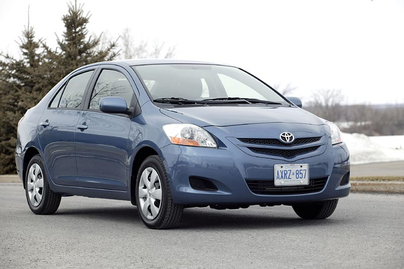 2007 Toyota Yaris Sedan Autos Ca