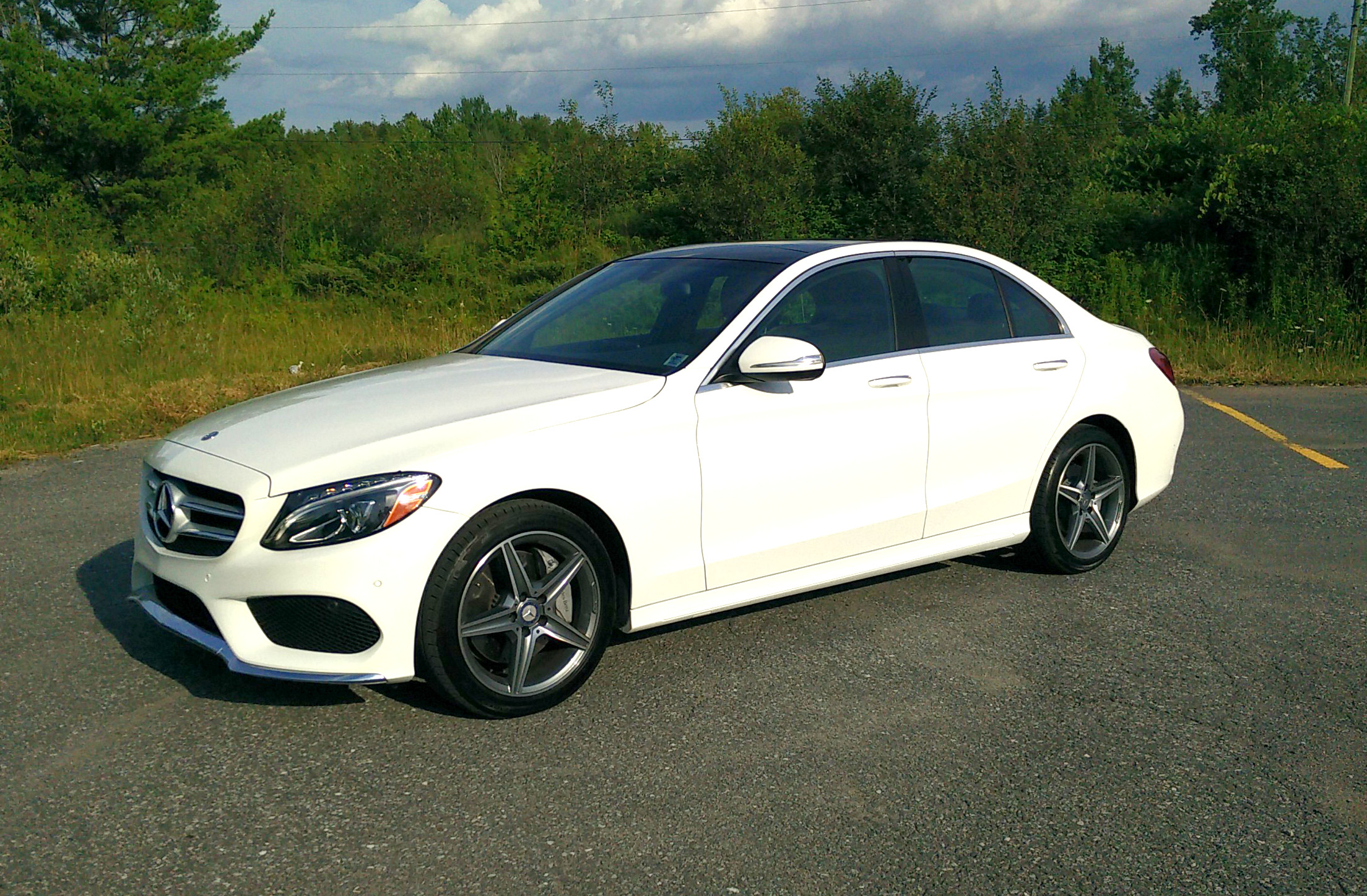2015 mercedes benz c400 for Mercedes benz c400 4matic
