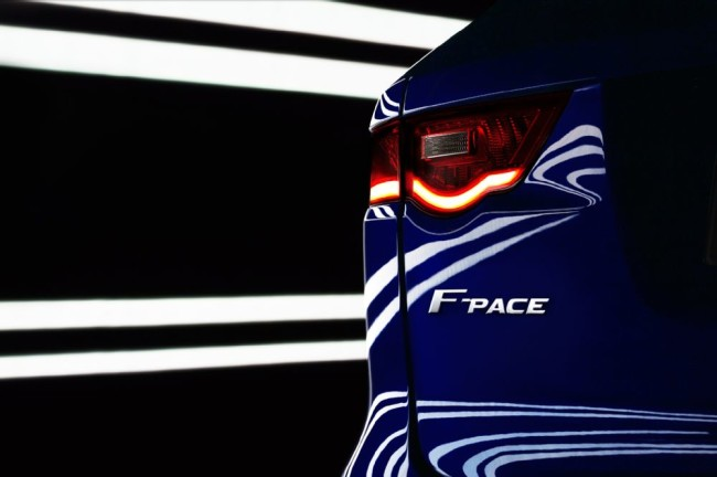 2017 Jaguar F-Pace Taillight