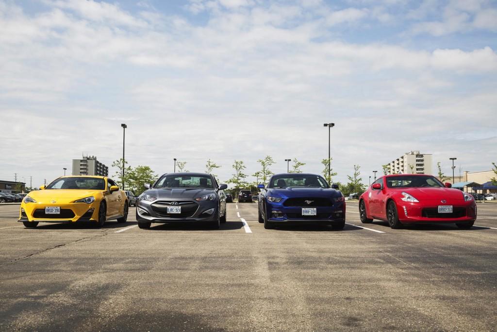 Comparison Test Affordable Sports Cars Autosca - Sports car comparison
