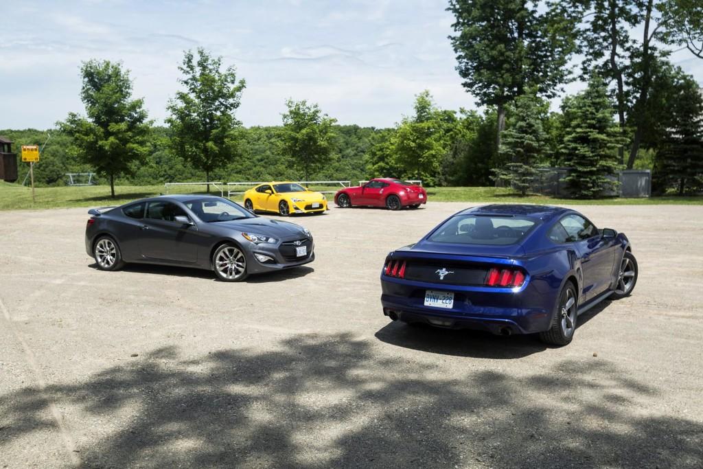 comparison test affordable sports cars. Black Bedroom Furniture Sets. Home Design Ideas
