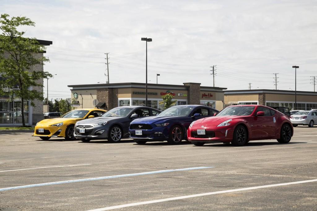 Comparison Test Affordable Sports Cars Autosca - Sports cars comparison
