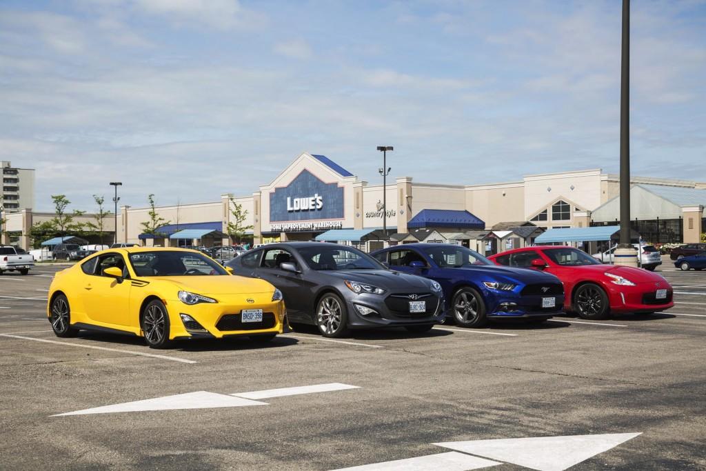 Comparison Test: Affordable Sports Cars