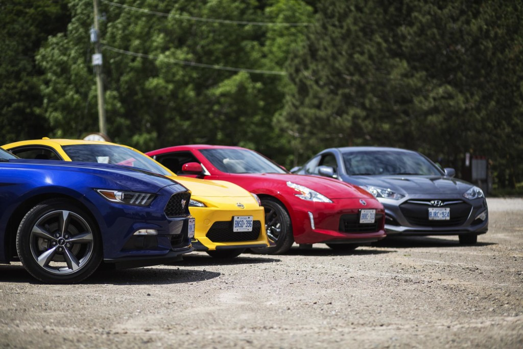 Comparison Test: Affordable Sports Cars