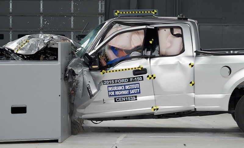 ford f 150 crash testing results shows big difference between crew and extended cab. Black Bedroom Furniture Sets. Home Design Ideas