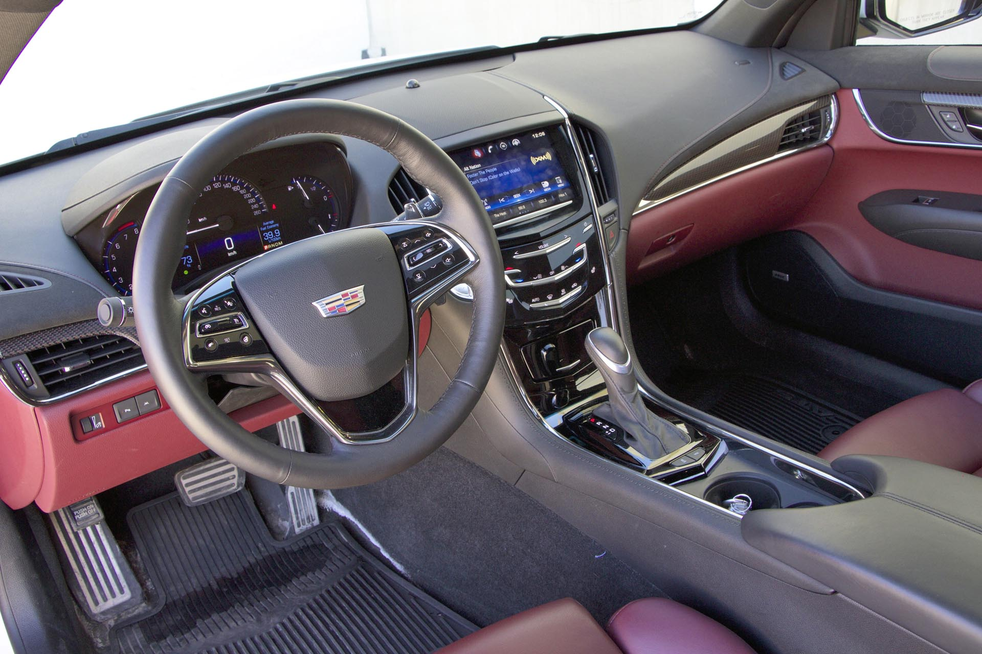 interior performance dash ats cadillac overview reviews coupe cars