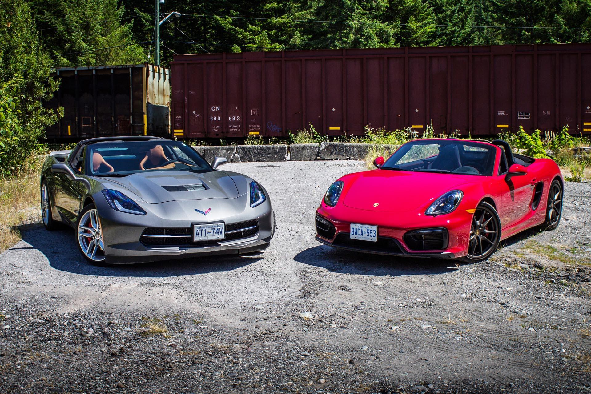 2006 Porsche Boxster >> Comparison Test: 2015 Chevrolet Corvette Stingray vs 2015 Porsche Boxster GTS - Autos.ca