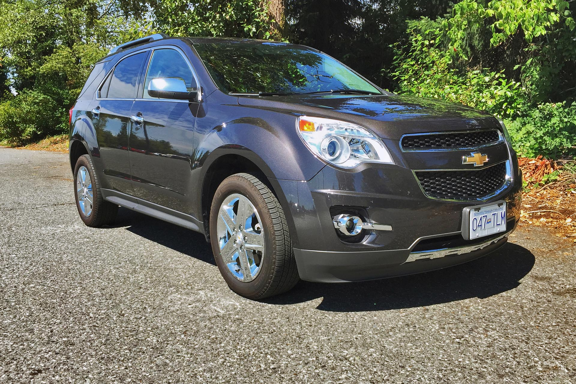 test drive 2015 chevrolet equinox ltz awd. Black Bedroom Furniture Sets. Home Design Ideas