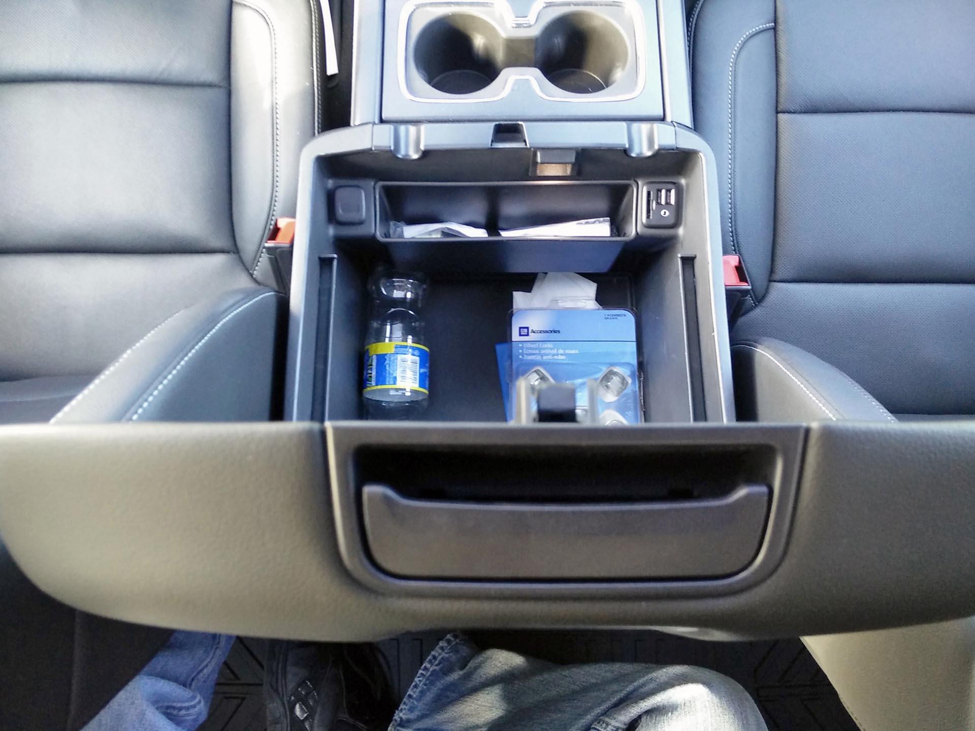 2015 Chevrolet Silverado 1500 4wd Crew Cab Ltz Chevy Center Console
