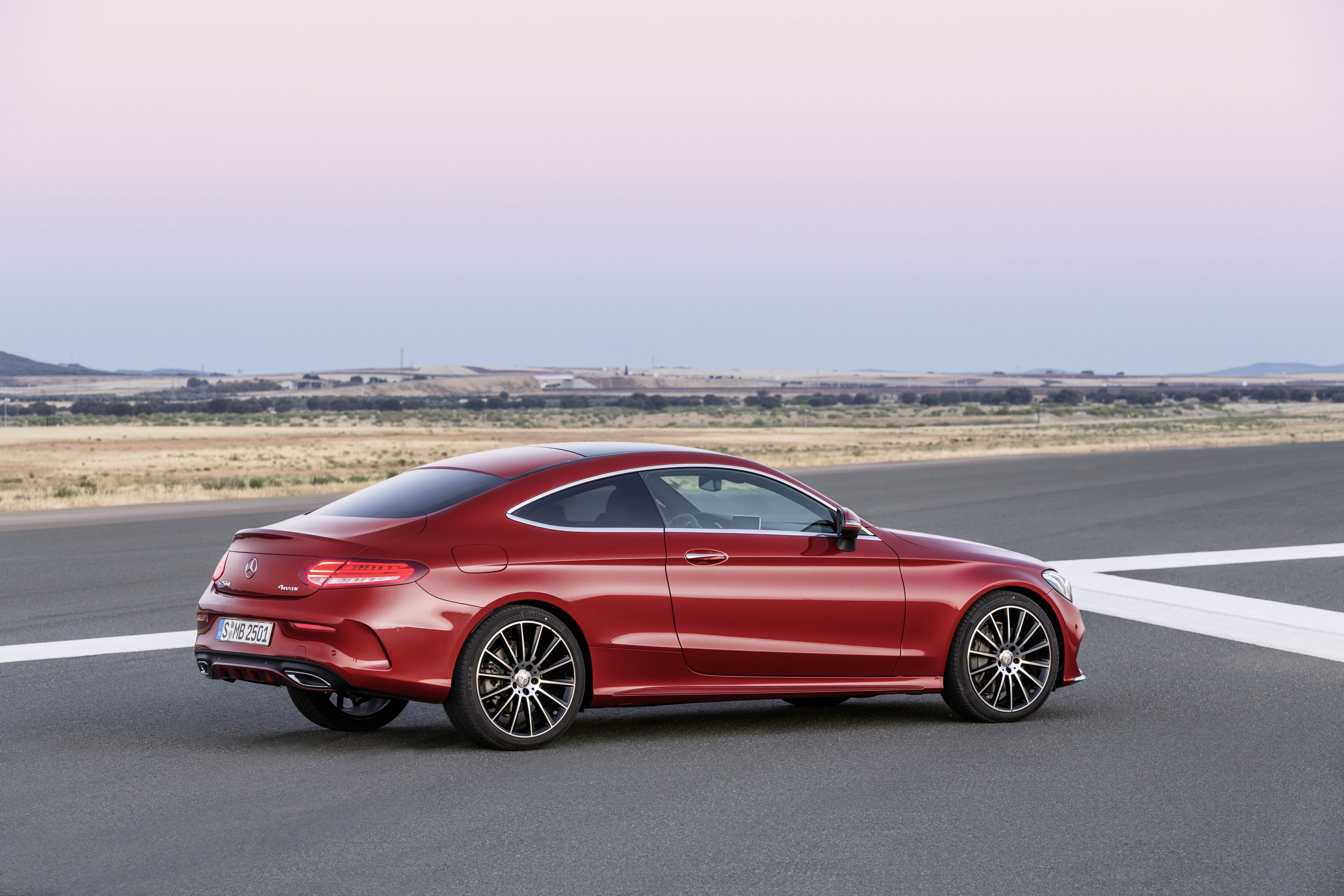 mercedes benz redesigns c class coupe for 2016