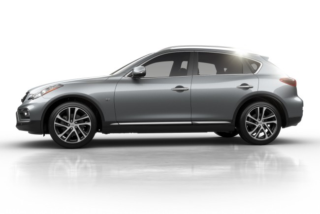 The 2016 Infiniti QX50 luxury crossover provides a unique combination of a right-sized exterior with a luxurious interior environment and suite of advanced technology features.
