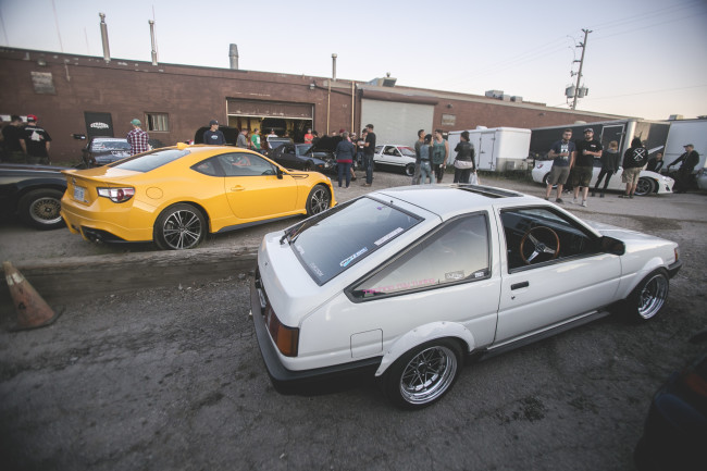 86 Day 2015 - Toyota Classics at Cyrious Garageworks