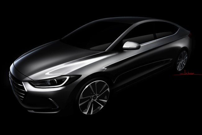 All-New Elantra Sketch