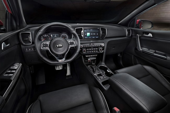 All-new Kia Sportage_interior_1