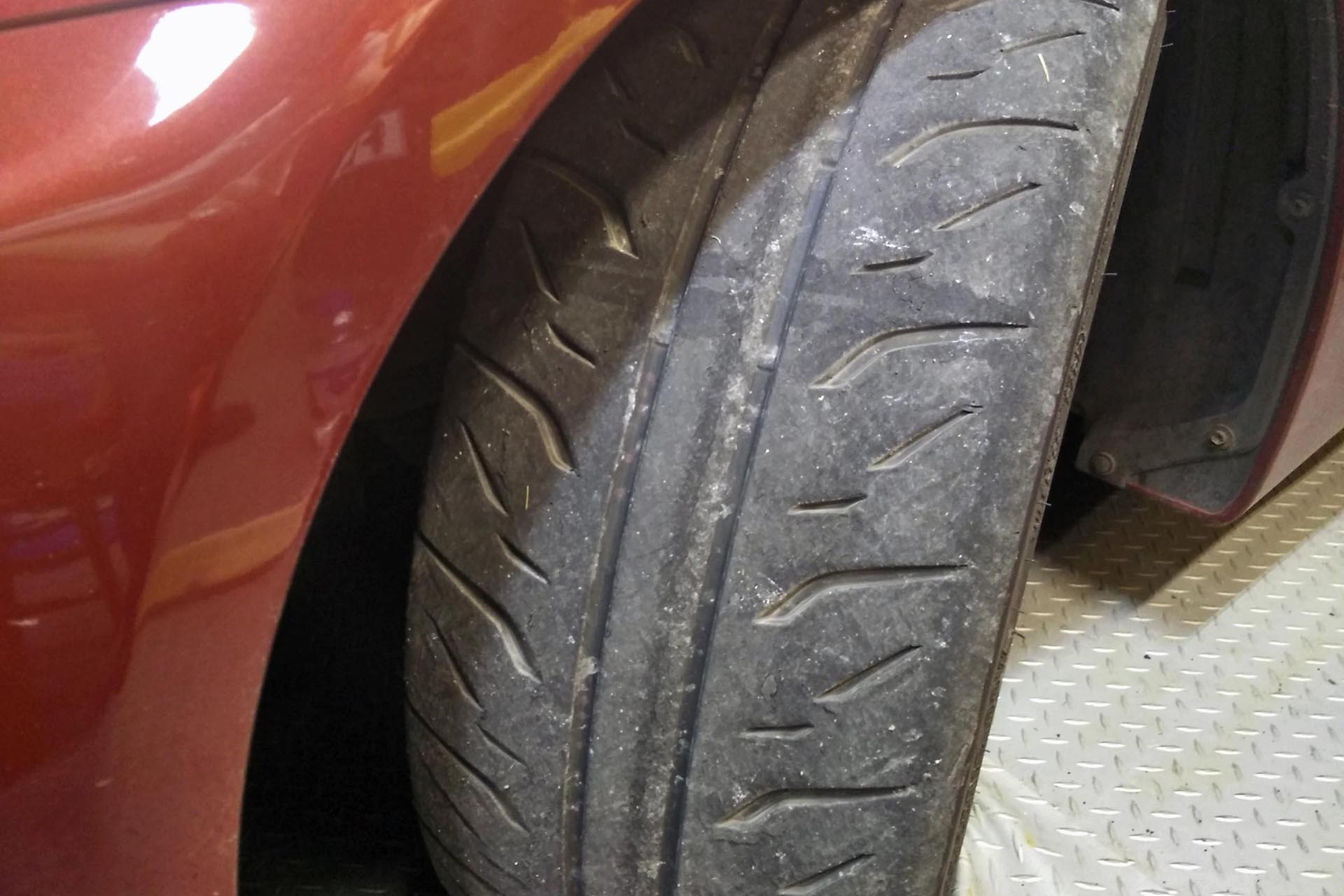 Bridgestone Potenza Re R Jbe on 2005 Dodge Ram