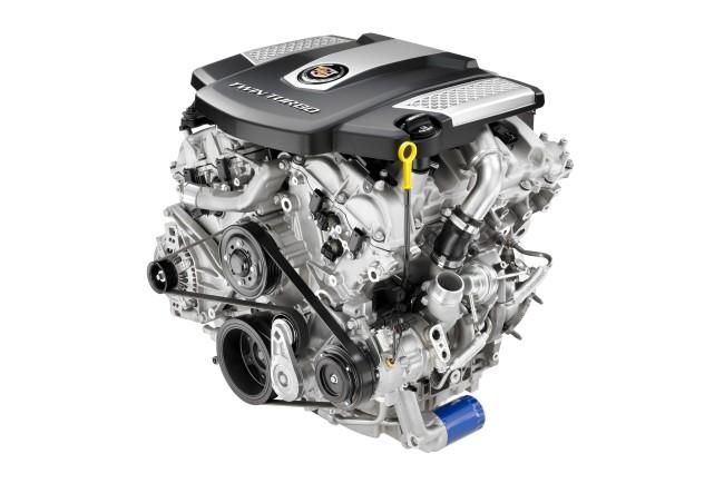 GM 3.6L V6 twin-turbo