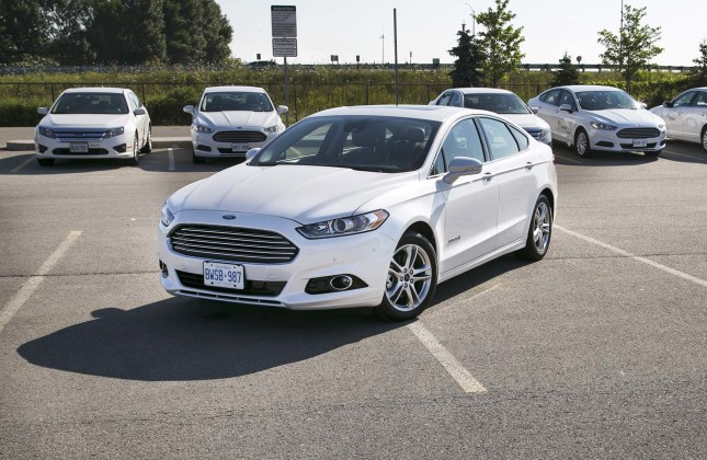 Test Drive 2015 Ford Fusion Titanium Hybrid Page 3 Of 3