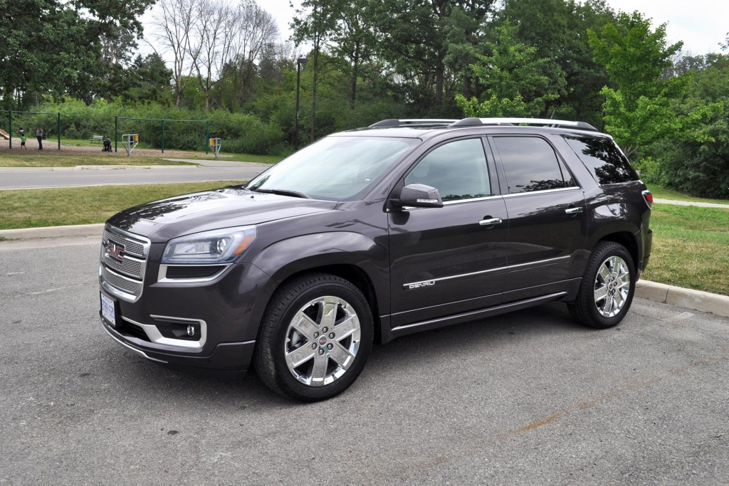 chevrolet acadia auto review price release date and rumors