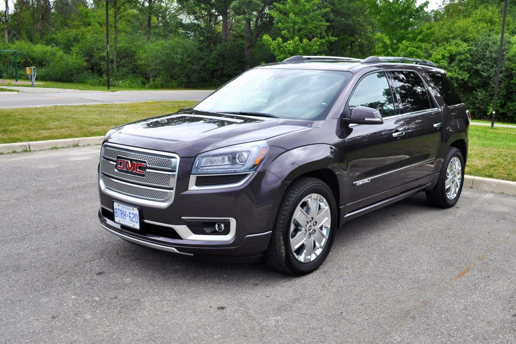 test drive 2015 gmc acadia denali awd. Black Bedroom Furniture Sets. Home Design Ideas
