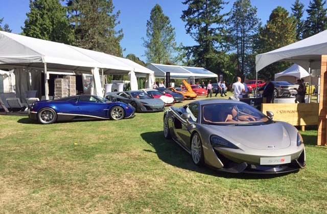 Van Dusen Luxury Car Show
