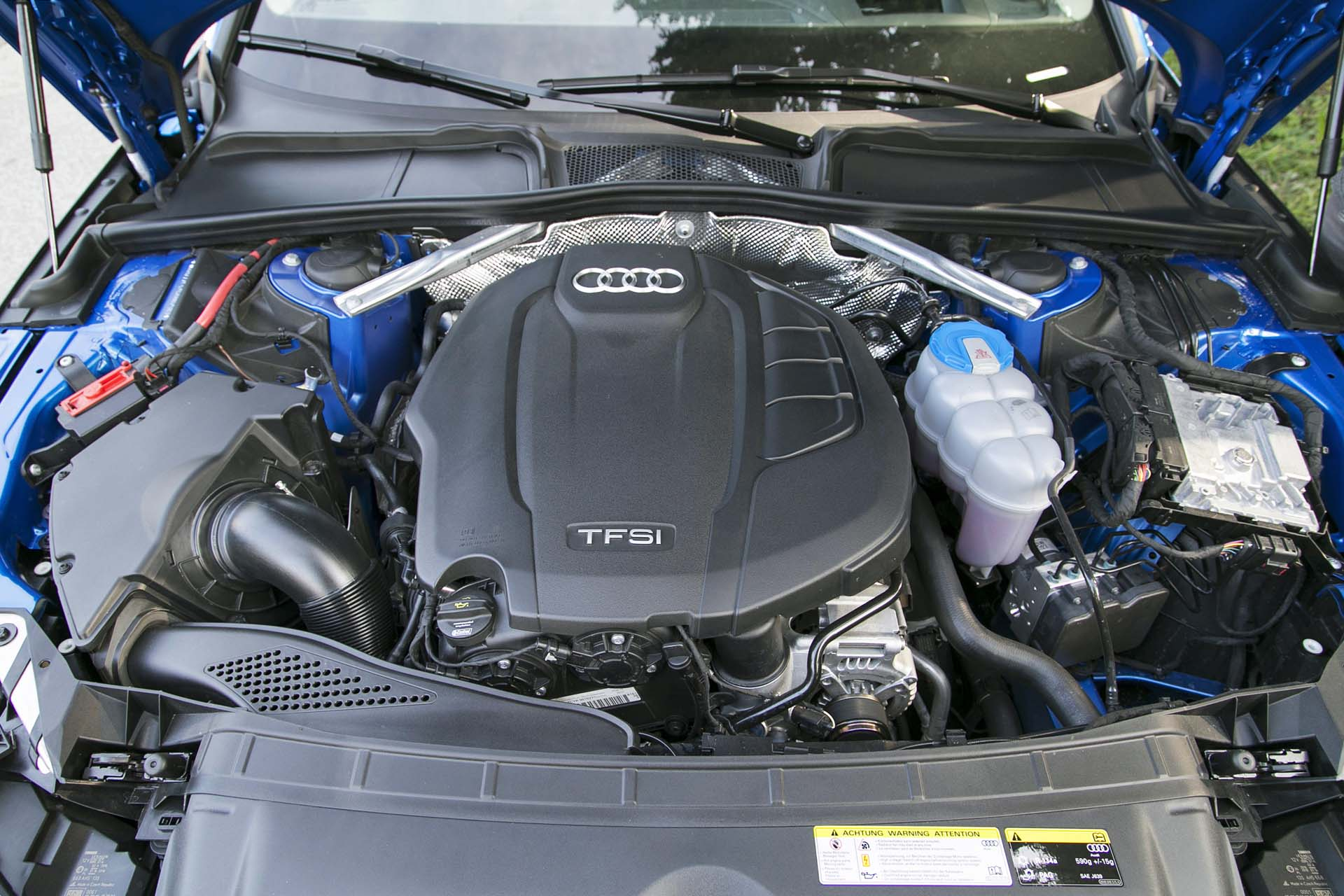 Missing Cover In Engine Compartment