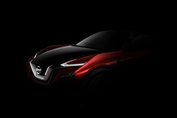 Nissan crossover concept Frankfurt