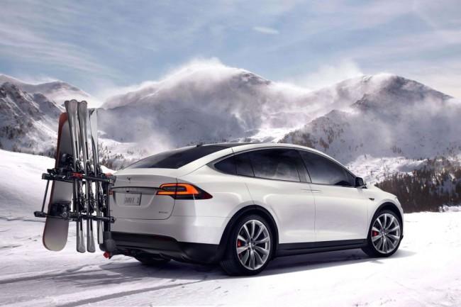Tesla Model X Press