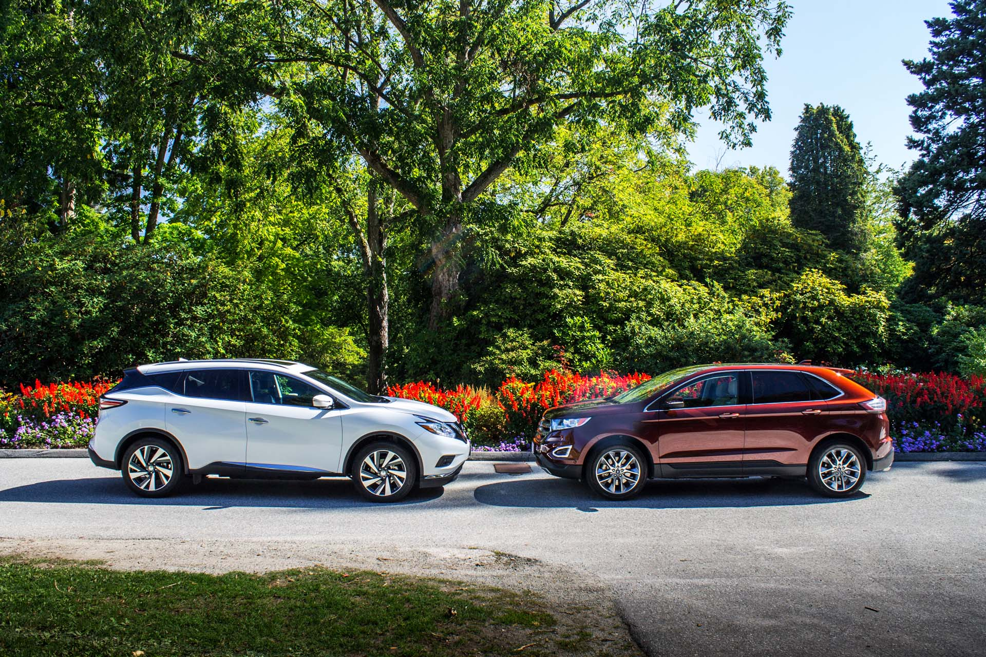 Ford Edge Titanium Vs Nissan Murano Platinum