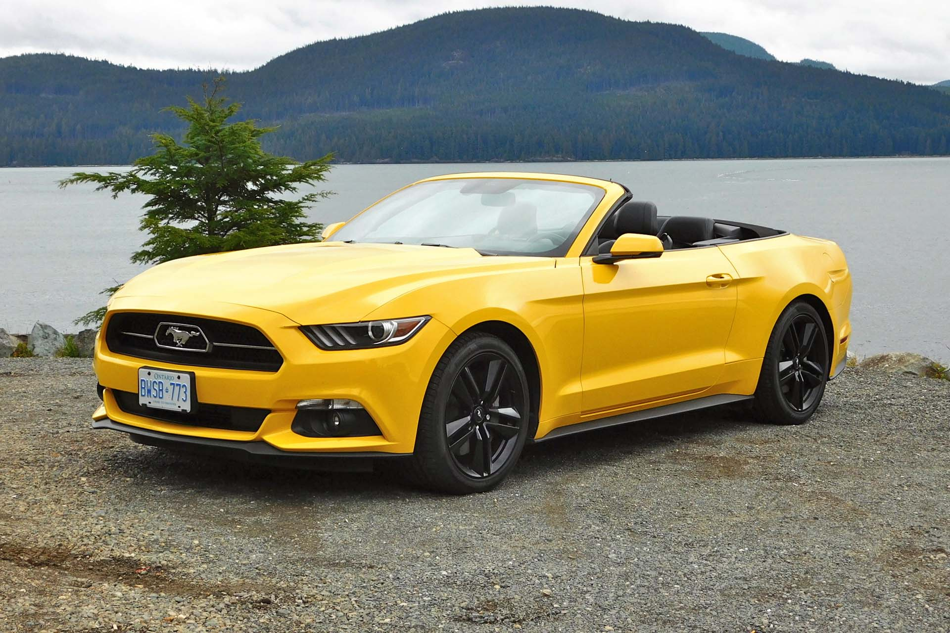 test drive 2015 ford mustang convertible ecoboost premium. Black Bedroom Furniture Sets. Home Design Ideas