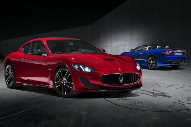 2015 Maserati Granturismo MC Centennial Edition Coupe Convertible