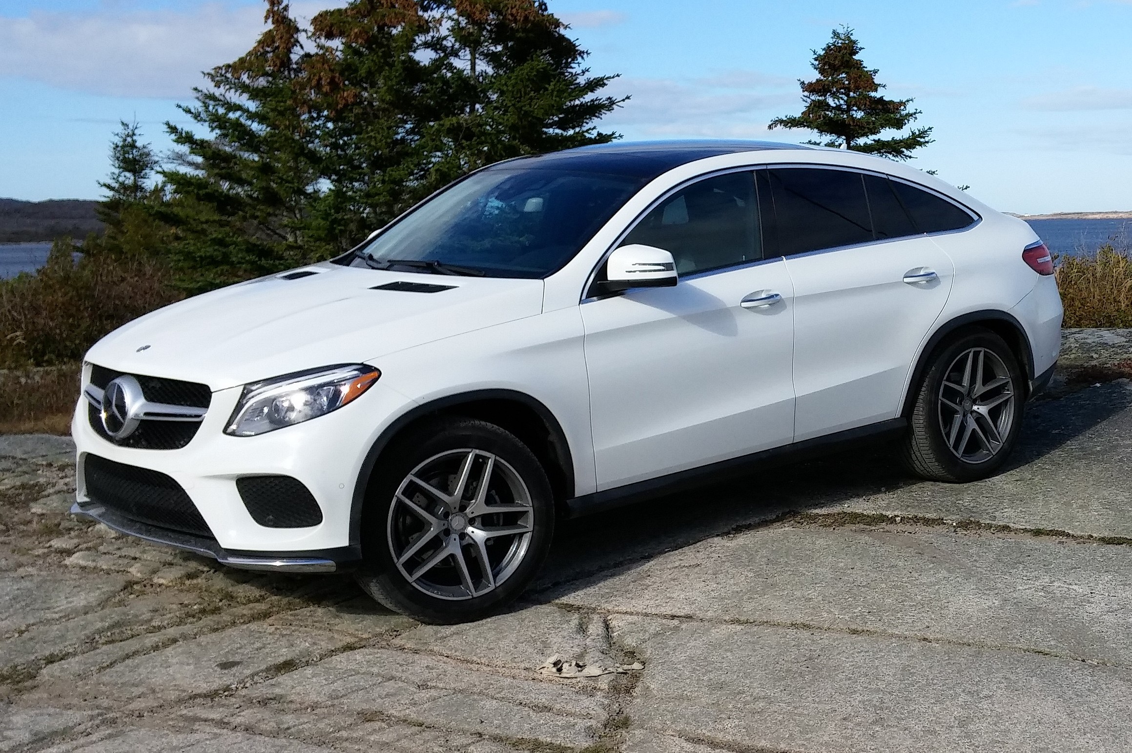 First drive 2016 mercedes benz gle coupe for Mercedes benz in md