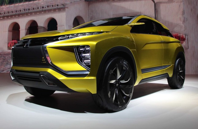 Mitsubishi Reveals New Electric Ex Concept In Tokyo Autos