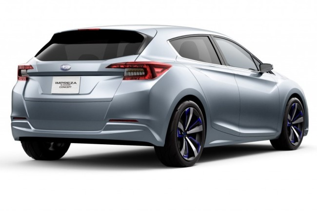Subaru Impreza 5-door concept (rear)