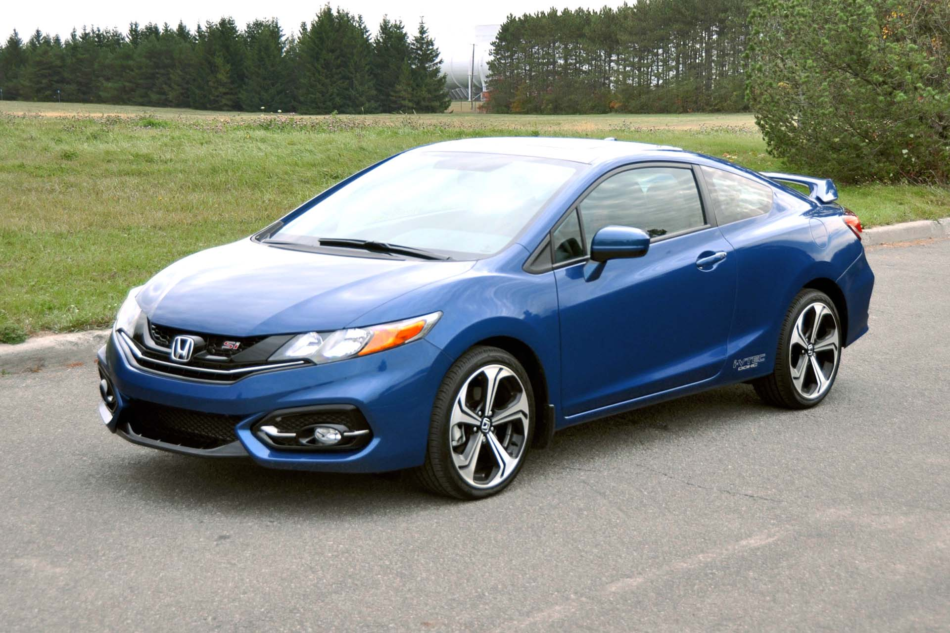 test drive 2015 honda civic si