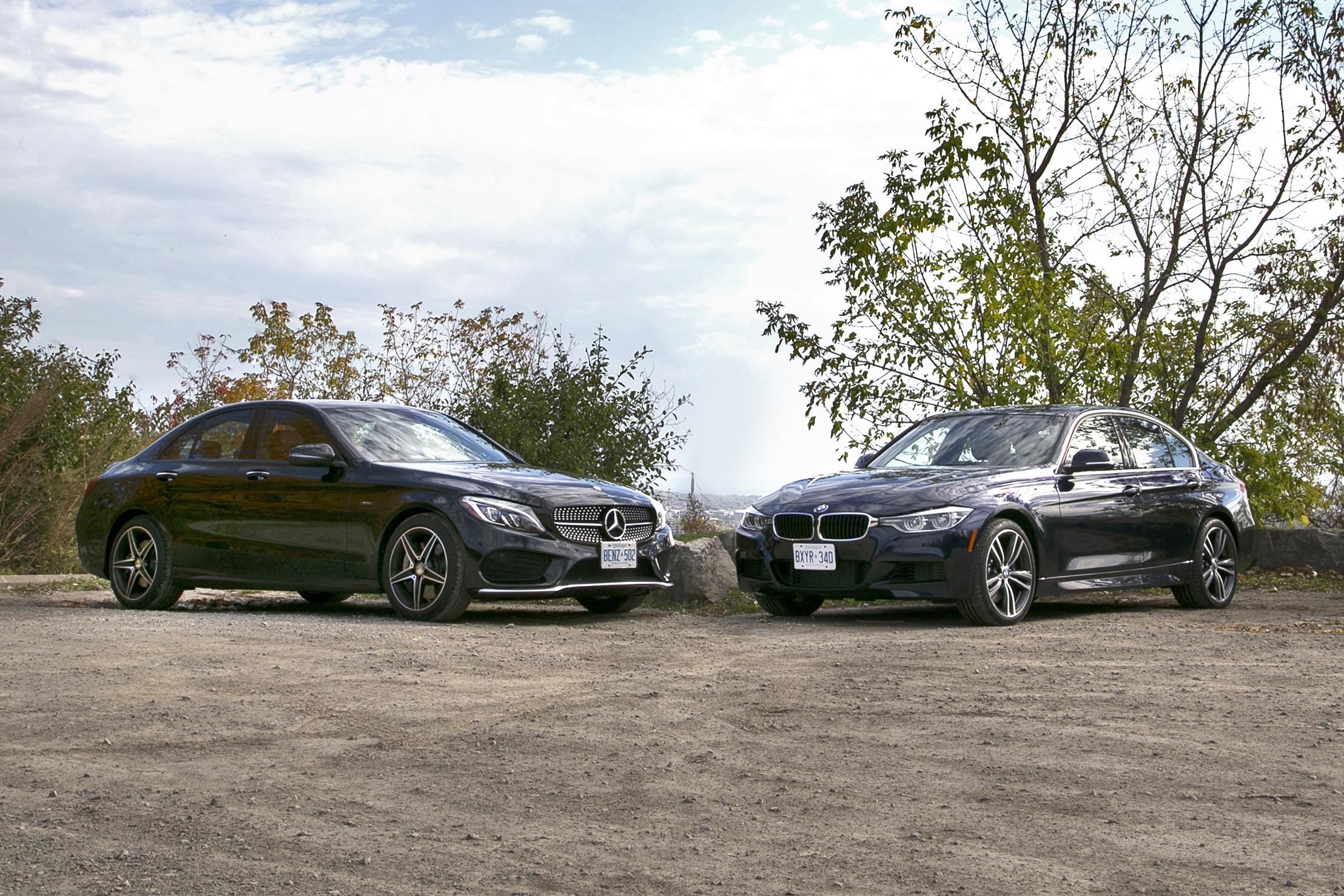 Comparison test 2016 bmw 340i xdrive vs 2016 mercedes for Mercedes benz vs bmw
