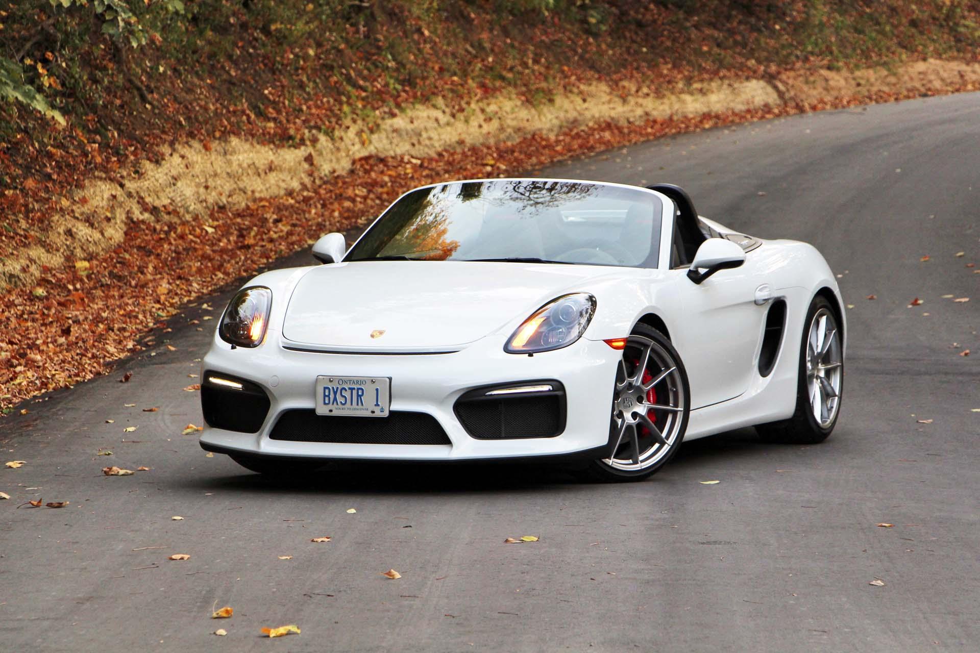 2016 Porsche Boxster Spyder Autos Ca