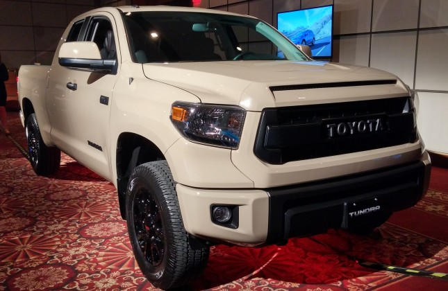 toyota adds tundra trd pro series to canadian lineup. Black Bedroom Furniture Sets. Home Design Ideas