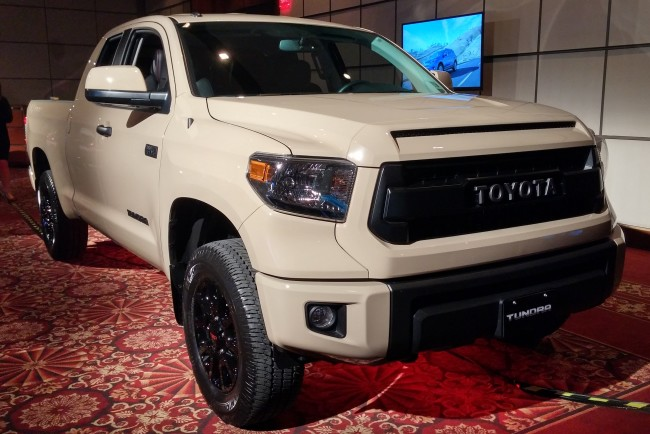2016 toyota tundra trd pro series 1